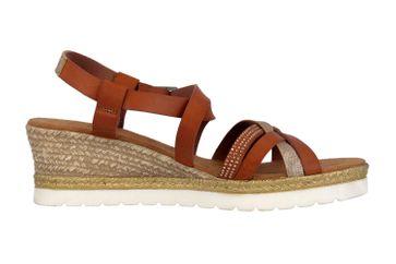 Mustang Shoes Sandaletten in Übergrößen Braun 1317-803-301 große Damenschuhe – Bild 4