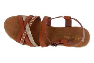 Mustang Shoes Sandaletten in Übergrößen Braun 1317-803-301 große Damenschuhe – Bild 7