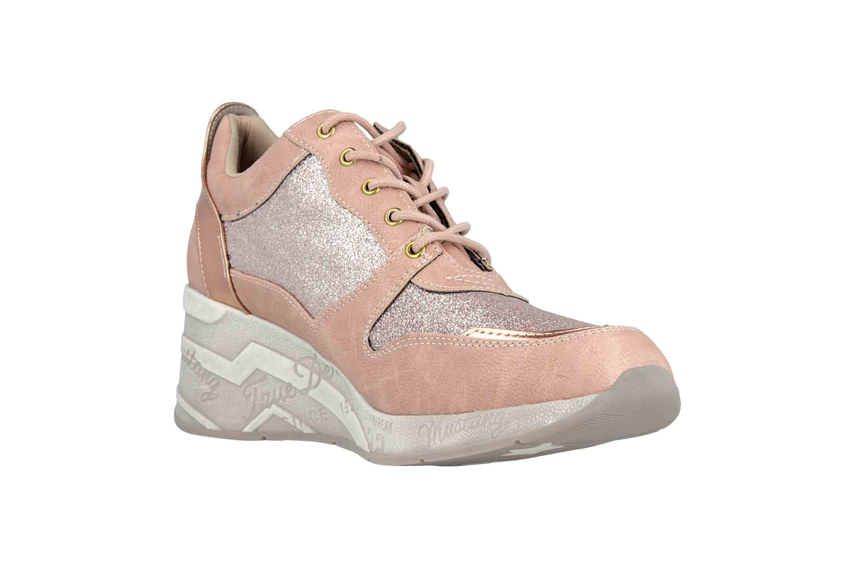 Mustang Shoes Sneaker in Übergrößen Rose 1319-301-555 große Damenschuhe – Bild 5