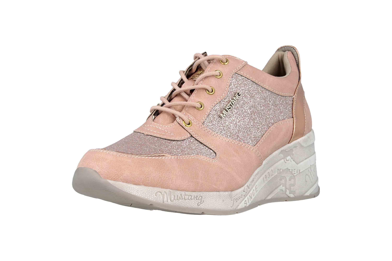 Mustang Shoes Sneaker in Übergrößen Rose 1319-301-555 große Damenschuhe – Bild 6