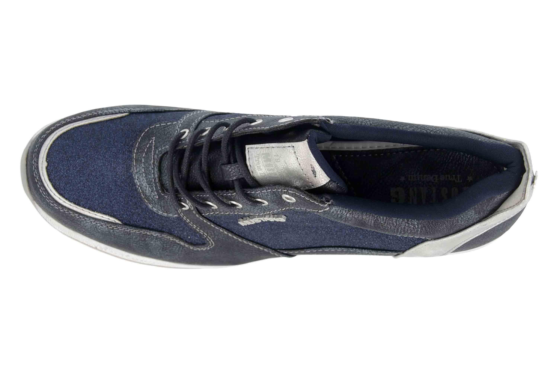 Mustang Shoes Sneaker in Übergrößen Blau 1319-301-820 große Damenschuhe – Bild 7