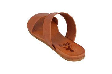 Mustang Shoes Pantoletten in Übergrößen Braun 8003-701-307 große Damenschuhe – Bild 2