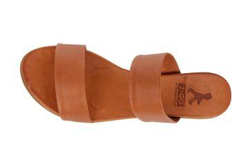 Mustang Shoes Pantoletten in Übergrößen Braun 8003-701-307 große Damenschuhe – Bild 7