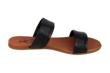 Mustang Shoes Pantoletten in Übergrößen Schwarz 8003-701-9 große Damenschuhe – Bild 4