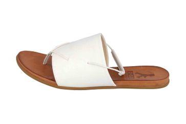 Mustang Shoes Sandalen in Übergrößen Weiß 8003-801-1 große Damenschuhe – Bild 1