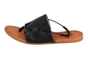 Mustang Shoes Sandalen in Übergrößen Schwarz 8003-801-9 große Damenschuhe – Bild 1