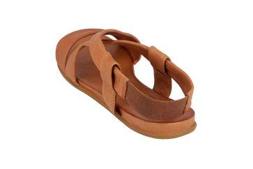 Mustang Shoes Sandalen in Übergrößen Braun 8003-802-307 große Damenschuhe – Bild 2
