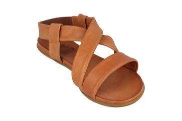 Mustang Shoes Sandalen in Übergrößen Braun 8003-802-307 große Damenschuhe – Bild 5