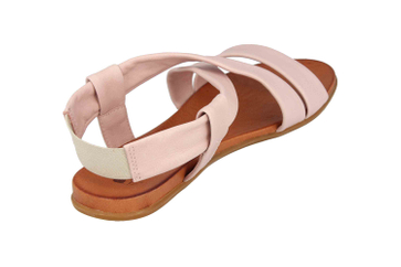Mustang Shoes Sandalen in Übergrößen Rose 8003-802-555 große Damenschuhe – Bild 3