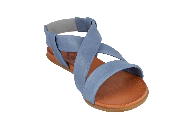 Mustang Shoes Sandalen in Übergrößen Blau 8003-802-88 große Damenschuhe – Bild 5