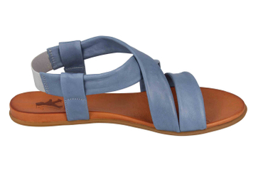 Mustang Shoes Sandalen in Übergrößen Blau 8003-802-88 große Damenschuhe – Bild 4