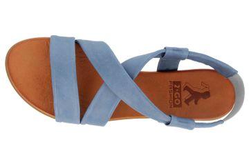 Mustang Shoes Sandalen in Übergrößen Blau 8003-802-88 große Damenschuhe – Bild 7