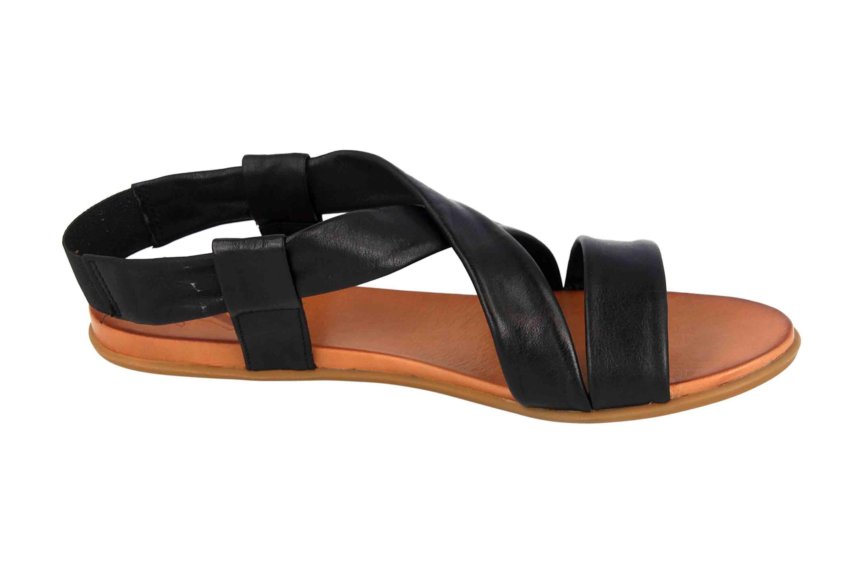 Mustang Shoes Sandalen in Übergrößen Schwarz 8003-802-9 große Damenschuhe – Bild 4