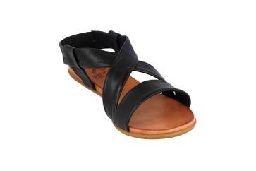 Mustang Shoes Sandalen in Übergrößen Schwarz 8003-802-9 große Damenschuhe – Bild 5