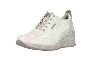 Mustang Shoes Sneaker in Übergrößen Weiß 1319-303-121 große Damenschuhe – Bild 6
