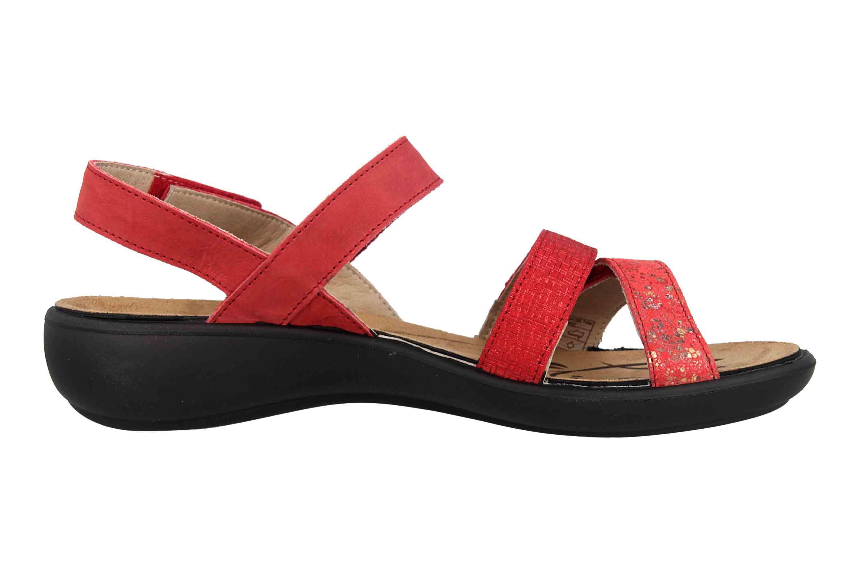 Romika Ibiza 103 Sandalen in Übergrößen Rot 16103 206 461 große Damenschuhe – Bild 4