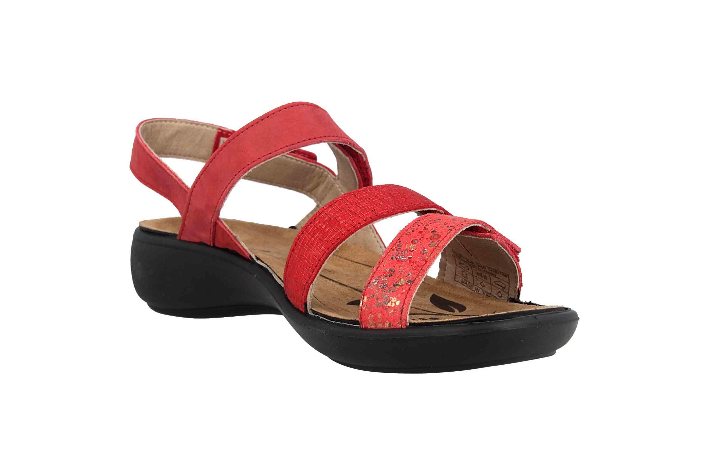 Romika Ibiza 103 Sandalen in Übergrößen Rot 16103 206 461 große Damenschuhe – Bild 5