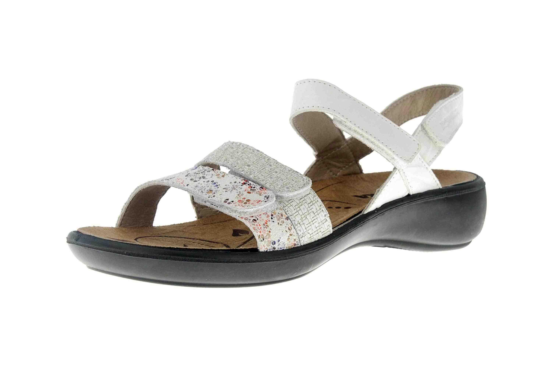 Romika Ibiza 103 Sandalen in Übergrößen Weiß 16103 206 001 große Damenschuhe – Bild 6