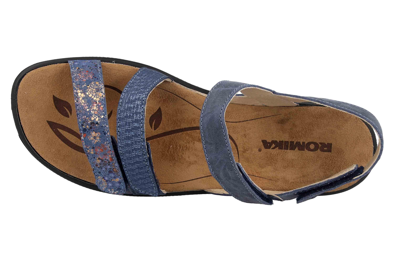 Romika Ibiza 103 Sandalen in Übergrößen Blau 16103 206 531 große Damenschuhe – Bild 7