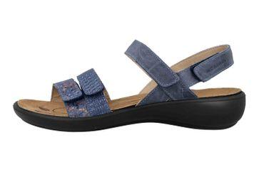 Romika Ibiza 103 Sandalen in Übergrößen Blau 16103 206 531 große Damenschuhe – Bild 1