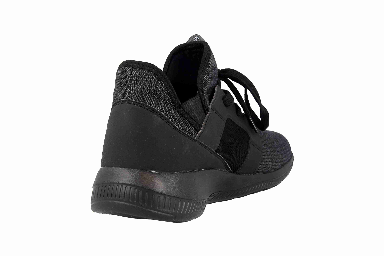 Kappa AMUN II Sneaker in Übergrößen Schwarz 242480 1111 große Herrenschuhe – Bild 3
