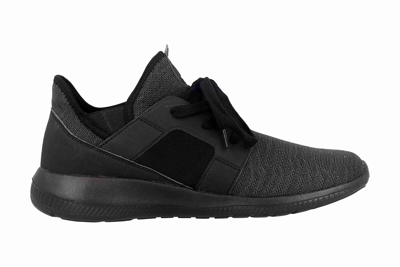 Kappa AMUN II Sneaker in Übergrößen Schwarz 242480 1111 große Herrenschuhe – Bild 4