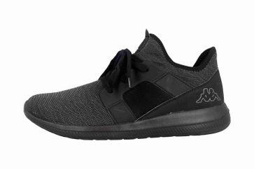 Kappa AMUN II Sneaker in Übergrößen Schwarz 242480 1111 große Herrenschuhe – Bild 1