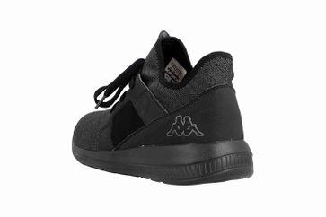 Kappa AMUN II Sneaker in Übergrößen Schwarz 242480 1111 große Herrenschuhe – Bild 2