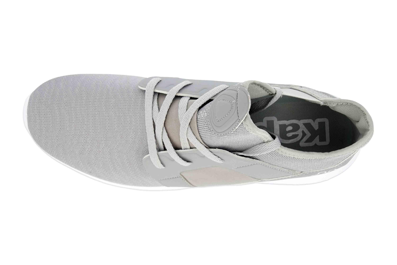 Kappa AMUN II Sneaker in Übergrößen Grau 242480 1410 große Herrenschuhe – Bild 7