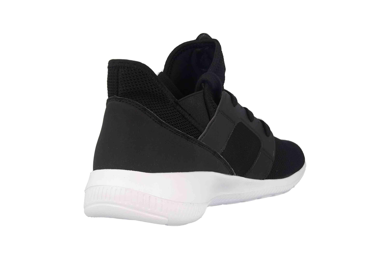 Kappa AMUN II KNT Sneaker in Übergrößen Schwarz 242709 1110 große Herrenschuhe – Bild 3