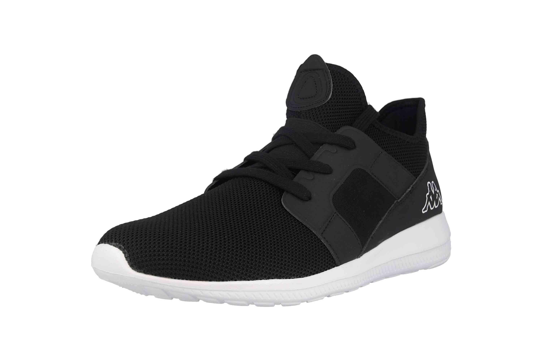 Kappa AMUN II KNT Sneaker in Übergrößen Schwarz 242709 1110 große Herrenschuhe – Bild 6