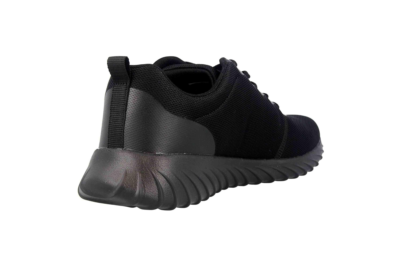 Kappa CES Sneaker in Übergrößen Schwarz 242685 1111 große Damenschuhe – Bild 3