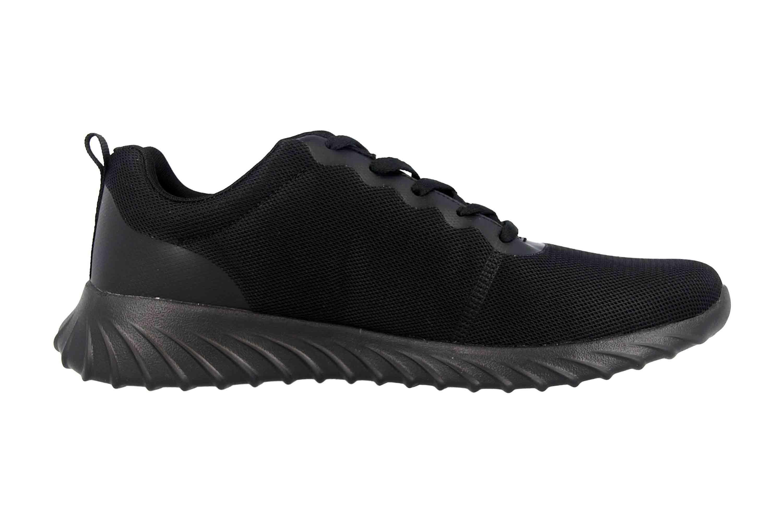 Kappa CES Sneaker in Übergrößen Schwarz 242685 1111 große Damenschuhe – Bild 4