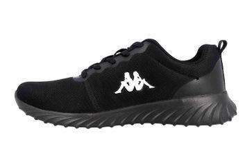 Kappa CES Sneaker in Übergrößen Schwarz 242685 1111 große Damenschuhe – Bild 1