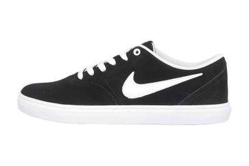 Nike SB Check Solar Sneaker in Übergrößen Schwarz BQ3240 001 große Damenschuhe – Bild 1
