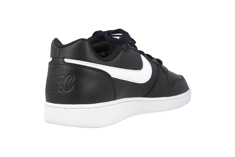 Nike Ebernon Low Sneaker in Übergrößen Schwarz AQ1775 002 große Herrenschuhe – Bild 3
