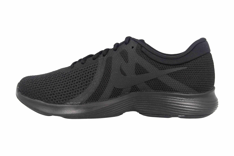 best authentic 83c9c d6cce Nike Revolution 4 Sneaker in Übergrößen Schwarz AJ3491 002 große Damenschuhe