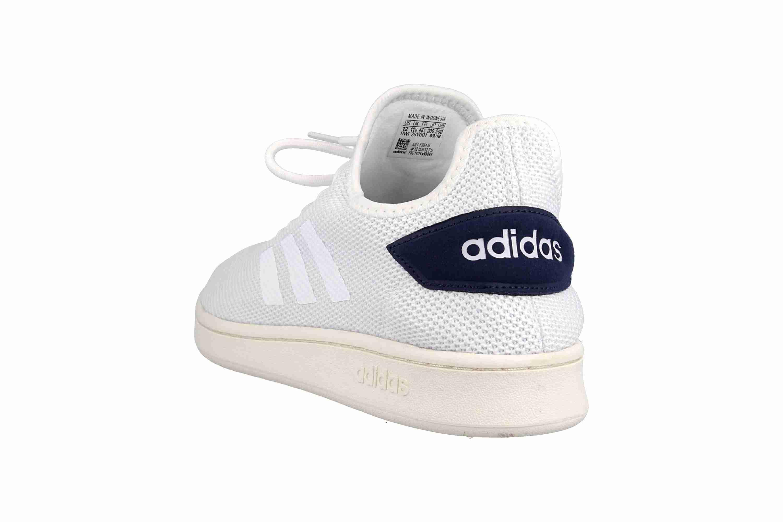 Adidas Court Adapt Sneaker in Übergrößen Weiß F36416 große Herrenschuhe – Bild 2