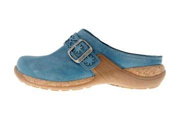 Romika Milla 122 Clogs in Übergrößen Blau 10182 40 515 große Damenschuhe