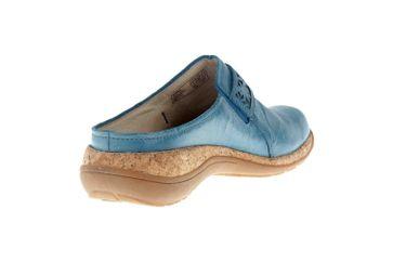 Romika Milla 122 Clogs in Übergrößen Blau 10182 40 515 große Damenschuhe – Bild 3