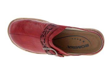 Romika Milla 122 Clogs in Übergrößen Rot 10182 40 450 große Damenschuhe – Bild 7