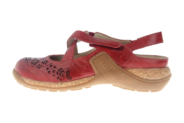 Romika Milla 125 Sandalen in Übergrößen Rot 10185 40 450 große Damenschuhe – Bild 1