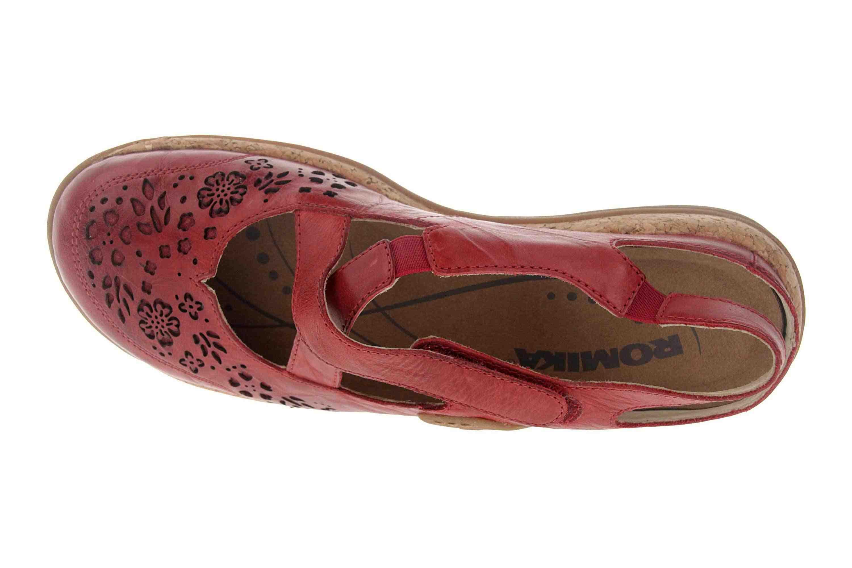 Romika Milla 125 Sandalen in Übergrößen Rot 10185 40 450 große Damenschuhe – Bild 7