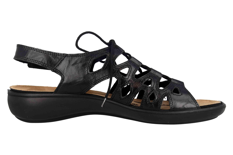 Romika Ibiza 77 Sandalen in Übergrößen Schwarz 16077 24 100 große Damenschuhe – Bild 4