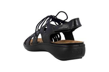 Romika Ibiza 77 Sandalen in Übergrößen Schwarz 16077 24 100 große Damenschuhe – Bild 2