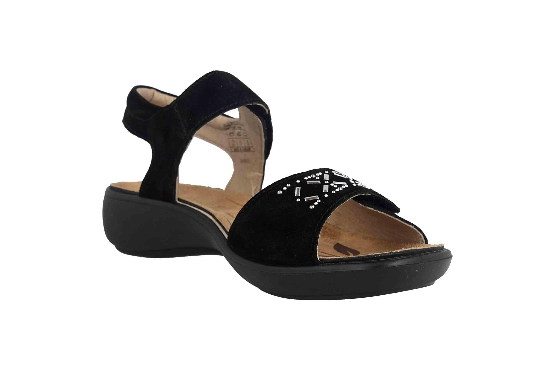 Romika Ibiza 98 Sandalen in Übergrößen Schwarz 16098 27 100 große Damenschuhe – Bild 5