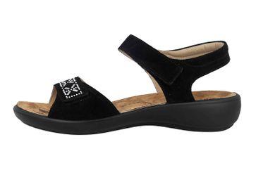 Romika Ibiza 98 Sandalen in Übergrößen Schwarz 16098 27 100 große Damenschuhe – Bild 1