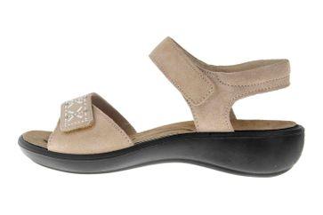 Romika Ibiza 98 Sandalen in Übergrößen Beige 16098 27 200 große Damenschuhe – Bild 1
