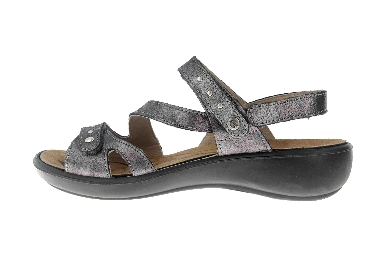 Romika Ibiza 70 Sandalen in Übergrößen Grau 16070 49 700 große Damenschuhe – Bild 1