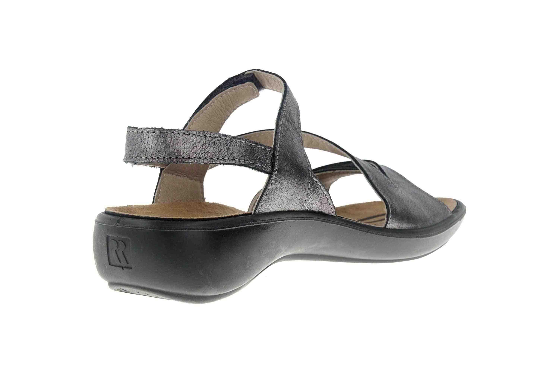 Romika Ibiza 70 Sandalen in Übergrößen Grau 16070 49 700 große Damenschuhe – Bild 3